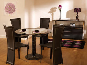 Oval Dining Table & 4 Chairs