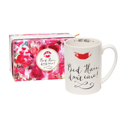 Bed Hair Don't Care Boxed Mug