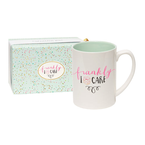 Frankly, I Donut Care Boxed Mug