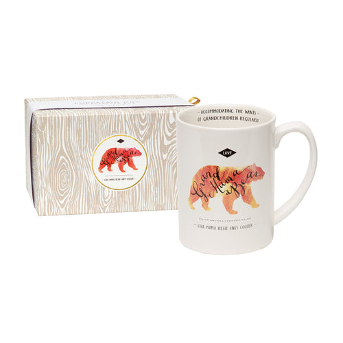 Grand Mama Bear - Like Mama Bear but Cooler Boxed Mug