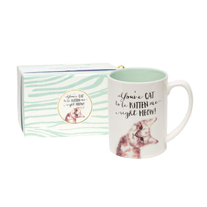 You've Cat To Be Kitten Me Right Meow Boxed Mug