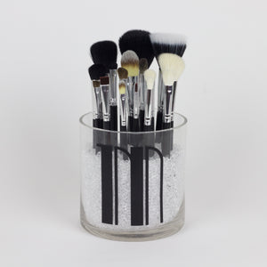 Single Initial Makeup Brush Holder