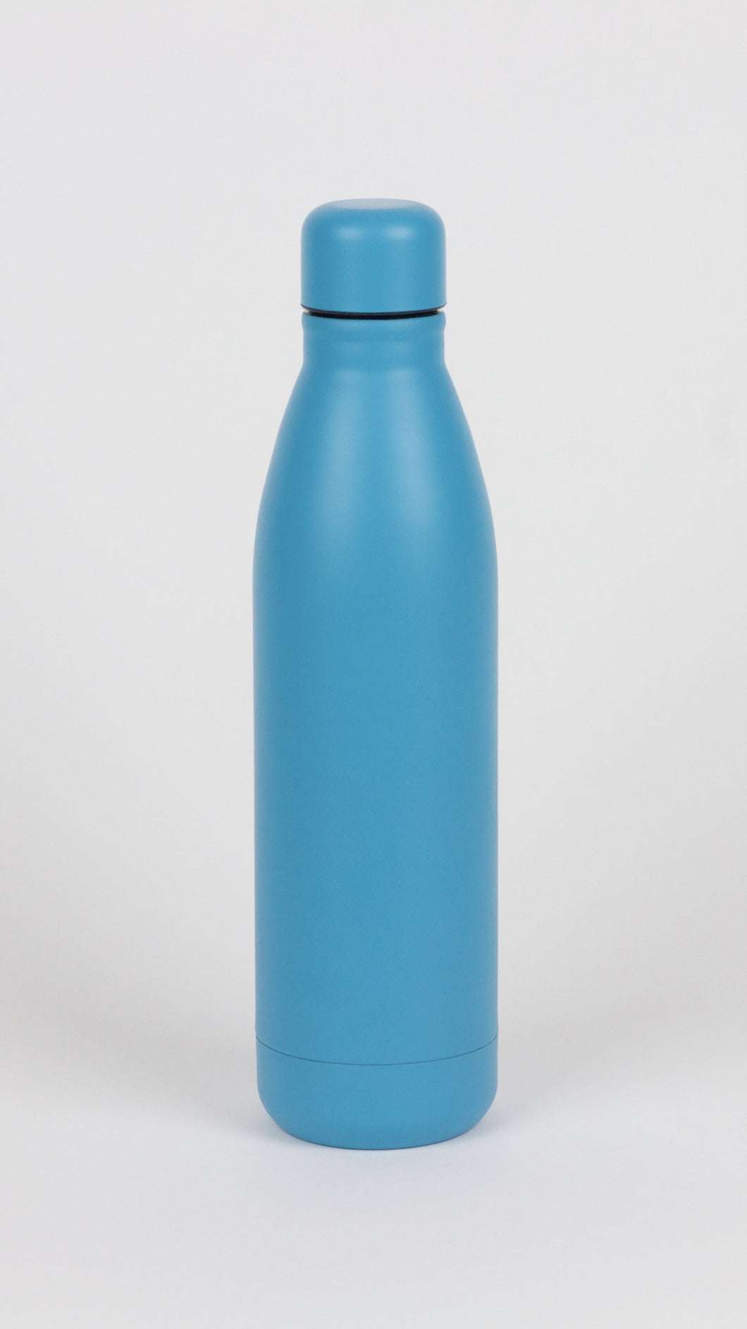 Matte Blue Water Bottle