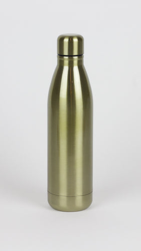 Gold Metallic Water Bottle
