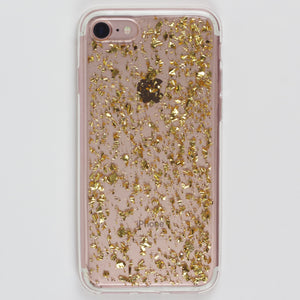Gold Flake iPhone Case