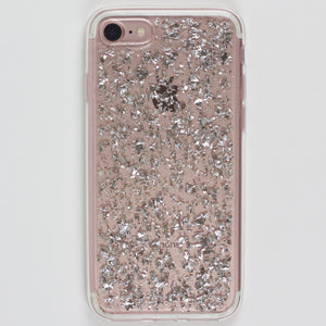 Silver Flake iPhone Case