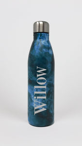 Full Name Blue Marble Water Bottle