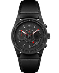 ZINVO Men's Chrono Black Watch Front View