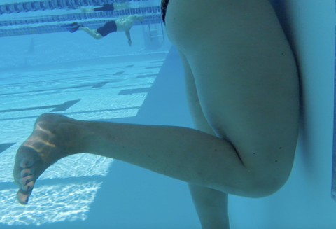 On Deck with A3 Performance blog Breaststroke Flamingo Drill