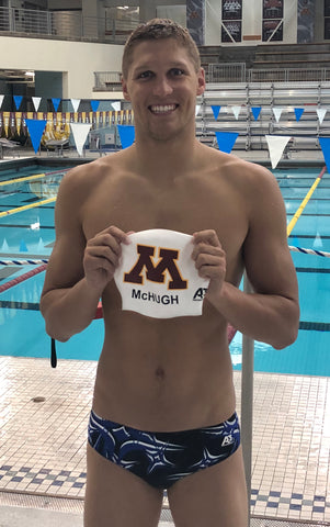 A3 Performance Signs All-American Breaststroker Conner McHugh