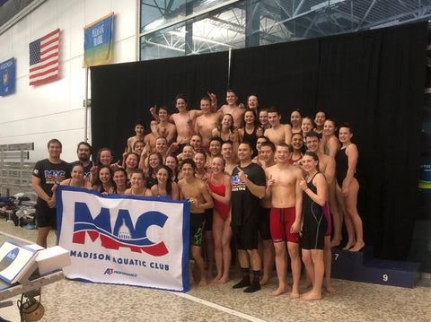 A3 Performance Team Madison Aquatic Club Wins WI Winter State Swimming Championships