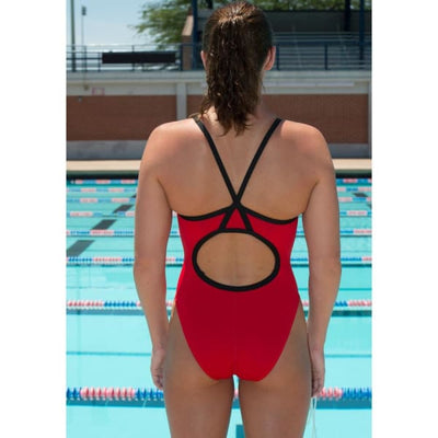 A3 Performance Contrast Female Xback Swimsuit - Female