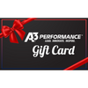 A3 Performance Gift Card - $25.00 - Gift Card