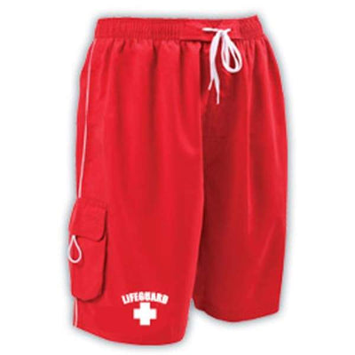 A3 Performance Guard Male Pro Short w/ logo - Red 400 / L - Male