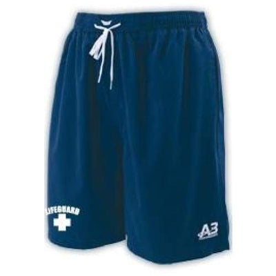 A3 Performance Guard Male Water Short w/ logo - Navy 350 / L - Male