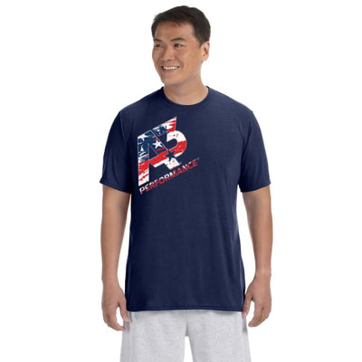 A3 Performance Patriotic T-Shirt - Adult Small - Apparel