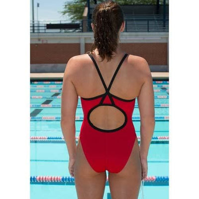 A3 Performance Tribal Geo Female Xback Swimsuit - Female