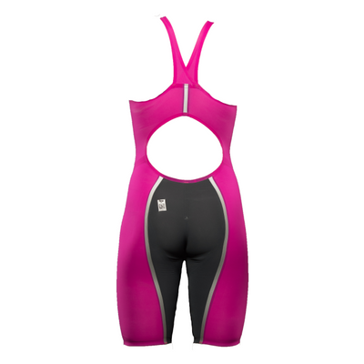 A3 Performance Vici Female Powerback Technical Racing Swimsuit - Pink/silver 450 / 18 - Female