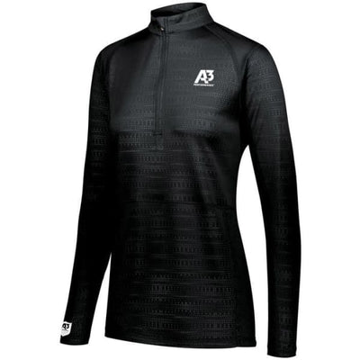Converge Ladies 1/2 Zip Pullover - Black 080 / Ladies XS - Apparel