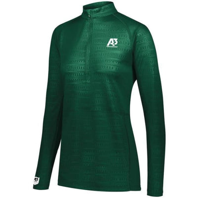 Converge Ladies 1/2 Zip Pullover - Forest 038 / Ladies XS - Apparel