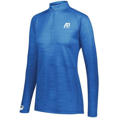 Converge Ladies 1/2 Zip Pullover - Royal 060 / Ladies XS - Apparel