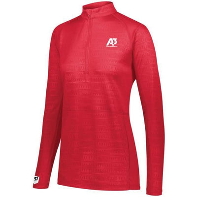 Converge Ladies 1/2 Zip Pullover - Scarlet 083 / Ladies XS - Apparel