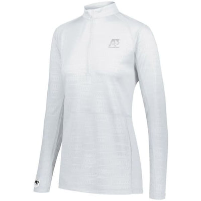 Converge Ladies 1/2 Zip Pullover - White 005 / Ladies XS - Apparel