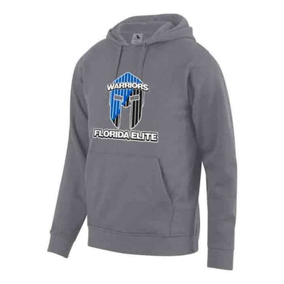 Florida Elite 60/40 Fleece Hoodie - GRAPHITE / S - Florida Elite Swimming