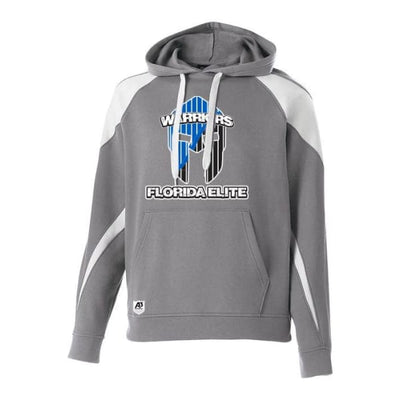 Florida Elite Prospect Hoodie - Charcoal Heather/White / Youth Small - Florida Elite Swimming