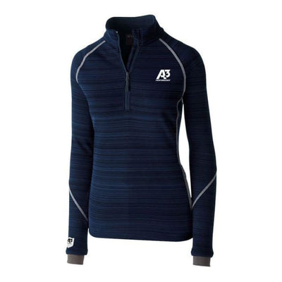 Ladies Deviate Pullover - Navy 065 / Ladies X-Small - Apparel
