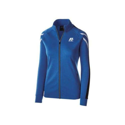 Ladies Flux Jacket - ROYAL HEATHER/BLACK/WHITE 872 / Ladies Small - Team Apparel