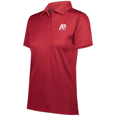 Ladies Prism Polo - Scarlet 083 / Ladies Small - Apparel