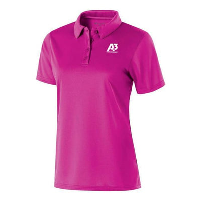 Ladies Shift Polo - Power Pink 809 / Ladies XS - Apparel