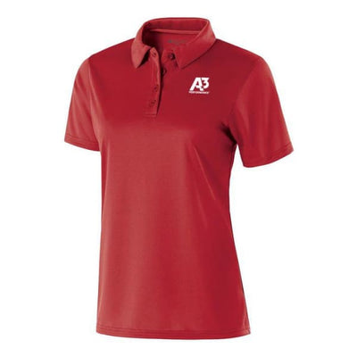 Ladies Shift Polo - Scarlet 083 / Ladies XS - Apparel