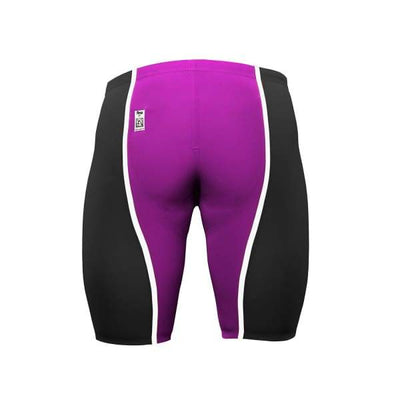 A3 Performance VICI Male Jammer Technical Racing Swimsuit - LIMITED EDITION - Black/Pink/White / 22 - Male