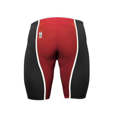 A3 Performance VICI Male Jammer Technical Racing Swimsuit - LIMITED EDITION - Black/Red/White / 22 - Male