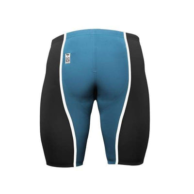 A3 Performance VICI Male Jammer Technical Racing Swimsuit - LIMITED EDITION - Black/Teal/White / 22 - Male