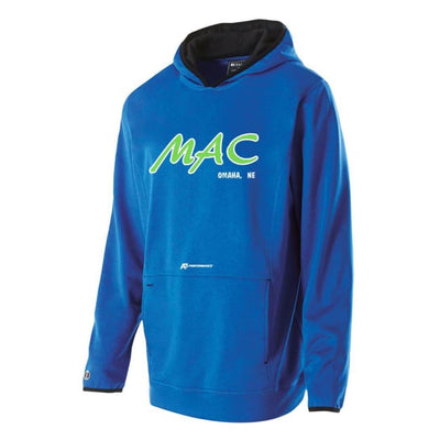 Millard Mens Hoodie - Athletic Heather - 018 / 2Xl - Millard Aquatic Club