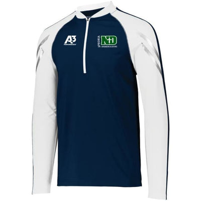 ND Flux 1/2 Zip Pullover - Peoria Notre Dame Swimming & Diving