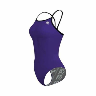 PRACTICE Contrast Female Xback - Purple/Black 501 / 18 - Team Store