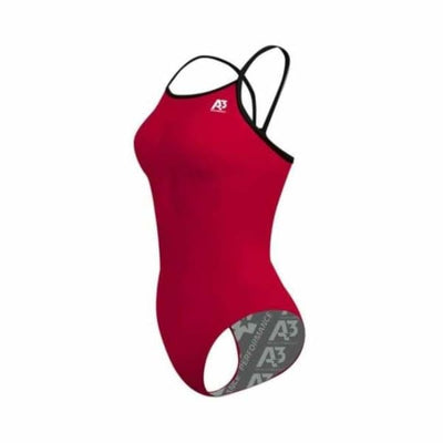 PRACTICE Contrast Female Xback - Red/Black 401 / 18 - Team Store