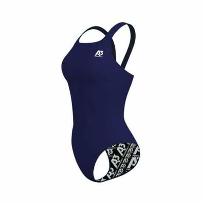 PRACTICE Solid Female Sprintback - Navy 350 / 18 - Team Store