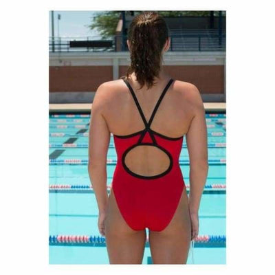PRACTICE Solid Female Xback Swimsuit - Team Store