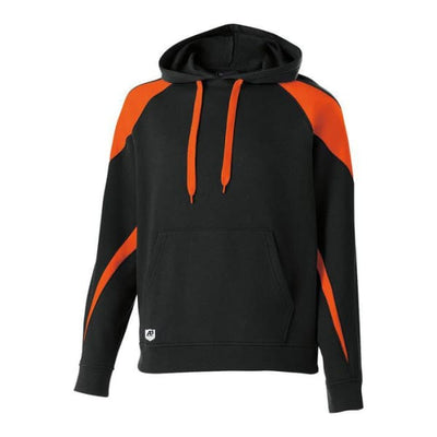 Prospect Hoodie - Black/Orange 423 / Adult Small - Apparel