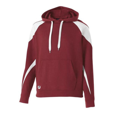 Prospect Hoodie - Cardinal/White 409 / Adult Small - Apparel