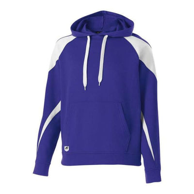 Prospect Hoodie - Purple/White 450 / Adult Small - Apparel