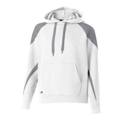 Prospect Hoodie - White/Charcoal Heather E31 / Adult Small - Apparel