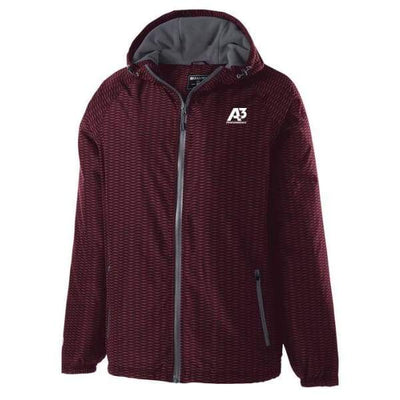 Range Jacket - MAROON/CARBON E92 / Small - Apparel