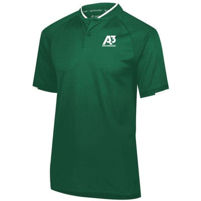 Recruiter Polo - Dark Green/White 438 / Small - Apparel