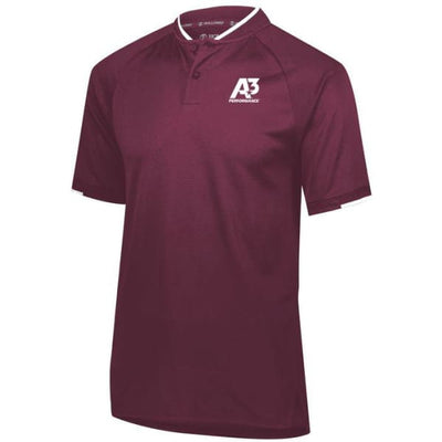 Recruiter Polo - Maroon/White 380 / Small - Apparel